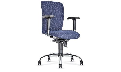 Krzesło biurowe hype w kolorze granatowym